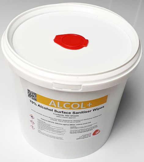 Alcohol Surface Sanitiser Wipes