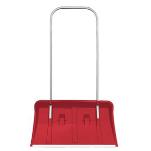 Pedestrian Snow Plough, Wheeled Snow Pusher, SP2